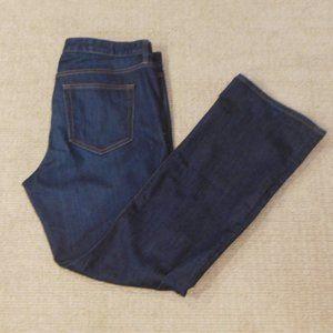 Gap 1969 Dark Wash Perfect Boot 33R